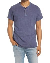 Marine Layer Stripe Henley T Shirt