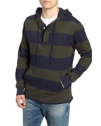 J.Crew Regular Fit French Terry Rugby Hoodie