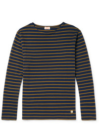 Armor Lux Striped Cotton Jersey T Shirt