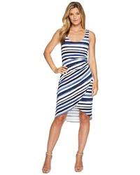 Tommy Bahama Aquarelle Stripe Sleeveless Midi Dress Dress