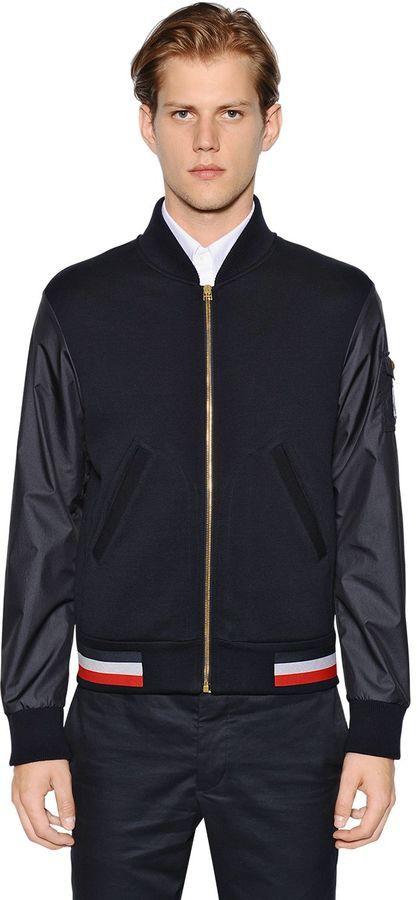 moncler gamme bleu overcoat