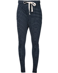 Bassike Striped Slouchy Trousers