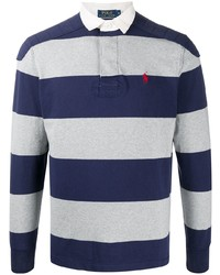 Polo Ralph Lauren Striped Long Sleeve Polo Shirt