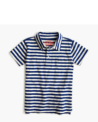 J.Crew Kids Polo Shirt In Bengal Stripe