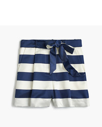 J.Crew Satin Short In Stripe