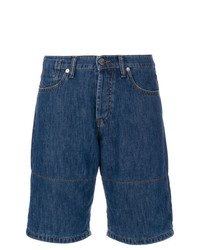 Marni Denim Shorts With Turn Up Cuffs