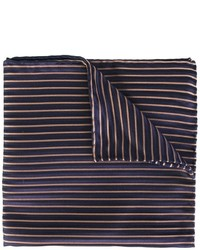 Armani Collezioni Striped Pocket Square