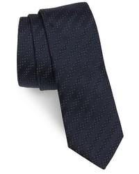 Hugo Boss Stripe Silk Skinny Tie