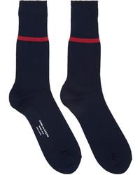 Comme des Garcons Comme Des Garons Homme Plus Navy Stripe Socks