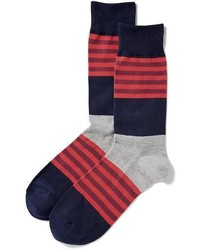 Old Navy Multicolor Stripe Socks For