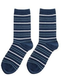 Hansel from Basel Multistripe Crew Socks
