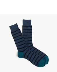 J.Crew Narrow Striped Socks