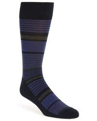Stripe cotton blend socks medium 816148