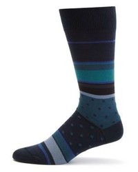 Paul Smith Striped Knitted Socks
