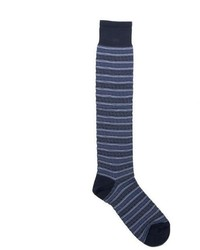 Versace Tall Horizontal Striped Socks