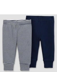 Just One You Made By Carter Baby Boys 2pk Pants Just One You Made By Carters Blue