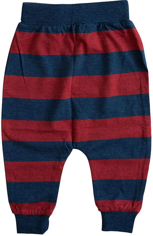 Red Navy Stripe Pants Infant Toddler Boys