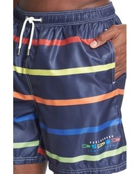 34c4304286 Paul & Shark Competition Collection Stripe Swim Trunks, $265 ...
