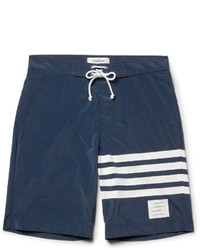 Thom Browne Long Length Striped Swim Shorts