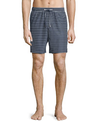 Michael Kors Michl Kors Striped Swim Shorts Navy
