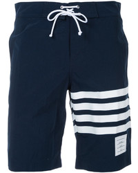 Thom Browne Striped Detail Swim Shorts