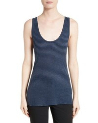 Vince Stripe Pima Cotton Tank