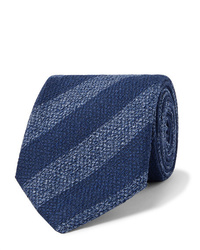 Charvet 75cm Striped Silk Tie
