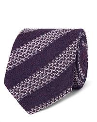 8cm striped silk blend tie medium 1149014