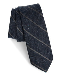 The Tie Bar Decruise Stripe Silk Tie