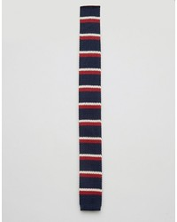 Original Penguin Knitted Striped Tie