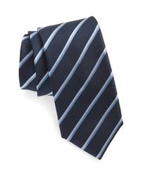 BOSS Multi Stripe Silk Tie