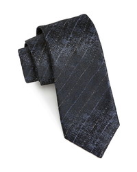 John Varvatos Stripe Silk Tie