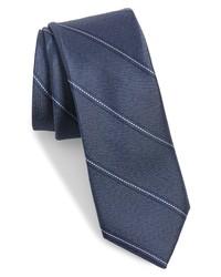 Ted Baker London Stripe Skinny Silk Tie