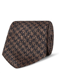 Richard James 7cm Houndstooth Silk Tie