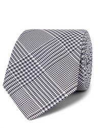Kingsman Drakes 8cm Dogtooth Silk Tie