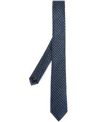 Z Zegna Houndstooth Pattern Tie