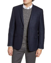 John W. Nordstrom Traditional Fit Houndstooth Wool Sport Coat