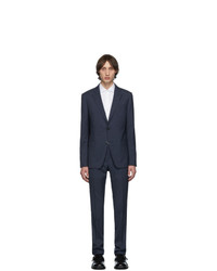 Z Zegna Blue Slim Drop 8 Suit