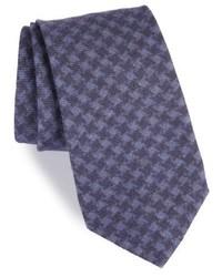 Michael Bastian Michl Bastian Houndstooth Wool Tie