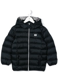 Armani Junior Padded Hooded Jacket