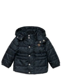 Gucci Babys Long Sleeve Gg Padded Jacket