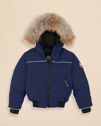 Canada Goose Boys Grizzly Bomber Jacket Sizes 2 7