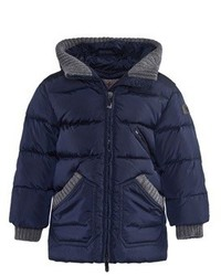 Il Gufo Navy Hooded Puffer Coat