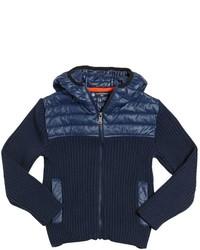 North Sails Nylon Cotton Blend Knit Jacket