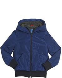 Fay Nylon Faux Shearling Jacket