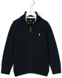 Ralph Lauren Kids Zipped Knit Jacket