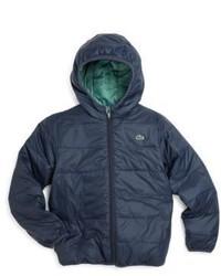 Lacoste Toddler Boys Reversible Puffer Coat