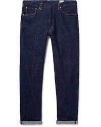 orSlow 107 Slim Fit Washed Selvedge Denim Jeans