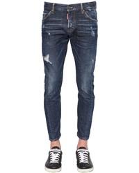 DSQUARED2 165cm Mbuble Sid Stretch Denim Jeans