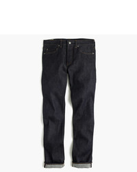 J.Crew 484 Slim Fit Jean In Raw Indigo Stretch Selvedge